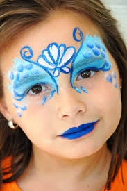 Face Makeup Designs For Halloween by Best 25 Mermaid Face Paint Ideas On Pinterest Cool Face Paint