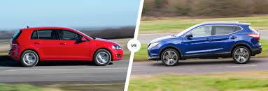 nissan qashqai vs vw tiguan volkswagen golf vs nissan qashqai bestseller battle carwow
