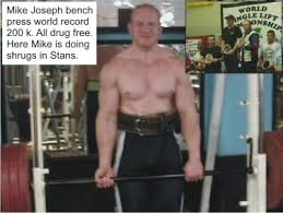 World Bench Press Record Mike Joseph 200k World Record Bench Press Sponsored By La