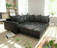 sofa ecken big sofa marbeya 280x115 cm grau braun 10 kissen sofaträume