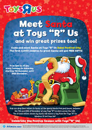 meet and greet santa at toys u201cr u201d us dubai festival city
