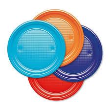 piatti e bicchieri di plastica colorati piatti di plastica colorati quadrati e tondi vendita
