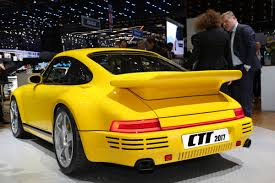 porsche ruf yellowbird ruf goes back to the future to celebrate 30 years of ctr auto