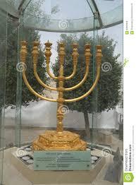 jerusalem menorah the golden menorah located in the quarter in the city