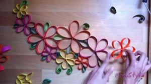 wall decoration flowers home design styles interior ideas