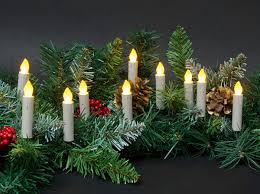 marvelous decoration tree candle lights battery operated