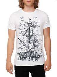 the nightmare before sketch t shirt topic