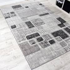 Wohnzimmer Grau Creme Designerteppich Wohnzimmer Teppich Retro Stil Shabby Chic Grau