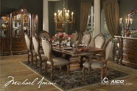 cortina luxury 7 piece traditional formal dining room set aico picture 1 of 1