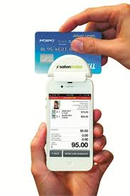 Business Card Reader For Android Salonswipe Offers Pay As You Go Credit Card Processing Business