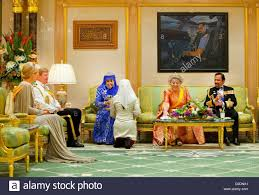 sultan hassanal bolkiah wives crown princess maxima of the netherlands and crown prince willem