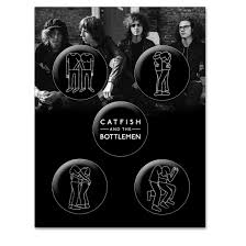 catfish and the bottlemen 5 badge set catfish and the bottlemen