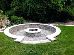 Firepit Blocks Pit Landscaping Gas Pits Traditional Landscape Building