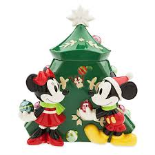 Minnie Mouse Christmas Decorations Mickey And Minnie Mouse Christmas Cookie Jar Mickey Fix