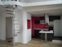 Apartment Stairs Design Apartment Futuristic Stainless Steel Modern Stairs Design And