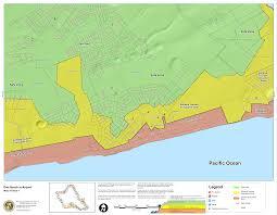 Pearl Harbor Map Hawaii State Tsunami Evacuation Maps
