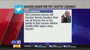 What Is Being Blind Like Bernie Sanders Wrong To Say U0027when You U0027re White You Don U0027t Know