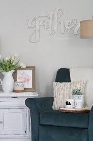 cozy family room reading nook