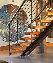 Industrial Stairs Design Stair Detail Industrial Staircase Seattle By Dan Nelson