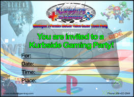 free birthday card invitation kurbside gaming