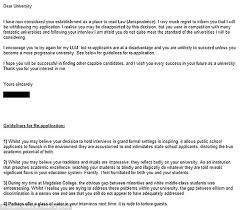 elly nowell sends oxford her own rejection letter criticising