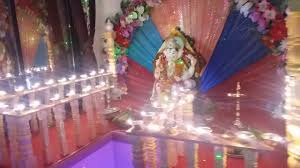 how to make ganpati decorations at home youtube