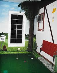 vk sokolow caddy shack indoor put put 1 cherie rose collection