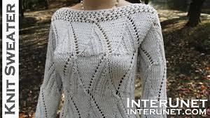 s sweater patterns knit a sweater s sleeve sweater knitting pattern