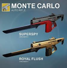 destiny rise of iron s new weapon ornaments on display in