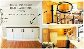 how to turn a base cabinet into a kitchen island building a buffet the lucky homestead