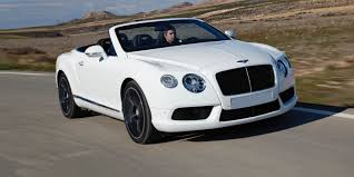 white bentley convertible bentley continental gtc review carwow