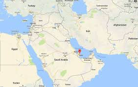 saudi arabia world map map world qatar travel maps and major tourist attractions maps