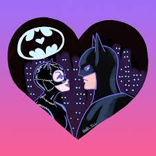 batman valentines i m drawing some of my favorite couples from tv noël ill