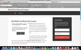 Bed Bath N Beyond Coupon Bed Bath And Beyond Coupons Chrome Web Store