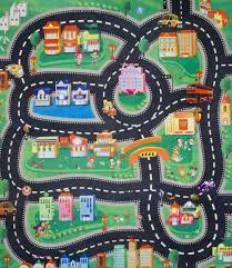 kids play rugs with roads home design ideas