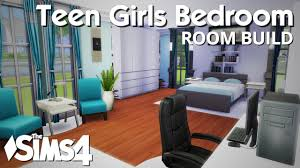 Teenage Girls Bedrooms by The Sims 4 Room Build Teen Girls Bedroom Youtube