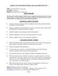 Parking Attendant Resume Valet Attendant Job Description Job Description For Lobby