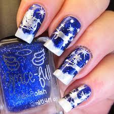 it u0027s all about the polish santa and his sleigh nails nail art