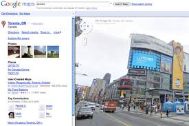 Google Live Maps Google Street View Now Live In Toronto