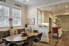 Kitchen Table With Built In Bench Built In Benches In Kitchen The Den Opens To The Breakfast Area
