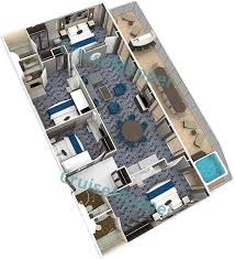 Allure Of The Seas Floor Plan Symphony Of The Seas Cabins And Suites Cruisemapper