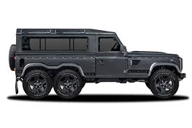 new land rover defender concept kahn flying huntsman concept powers in with 430bhp and six wheels