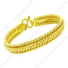 yellow bracelet images 4 baht polished diamond cut solid flat braided link chain bracelet jpg
