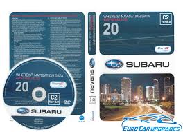 2014 map dvd genuine subaru oem maps australia v20 c2 ver 8 euro