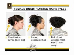 air force female hair standards you can only be army strong if you follow the new hair guidelines