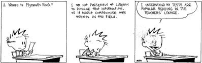 two vaguely thanksgiving related calvin and hobbes mockingbird