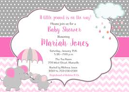 pink and grey elephant baby shower pink and grey elephant baby shower invitation it s a girl