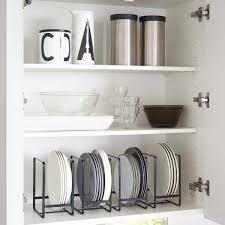 rangement pour tiroir de cuisine rangement pour tiroir cuisine 1 range assiette noir rangement