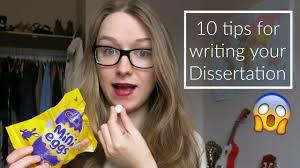 Best dissertation writing advice