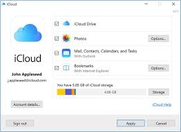 set up icloud account on pc 4 simple ways to access icloud photos dr fone